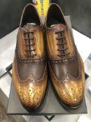LOT: (9) Austin Broque Medium/Dark Shoes,(1) 8, (2) 9, (1) 9.5, (2) 10, (1) 10.5, (1) 11, (1) 12
