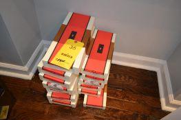 LOT: (7) Carrot & Gibbs Cummerbund Sets, (6) Carrot & Gibbs Silk Braces