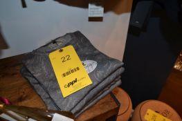 LOT: (5) Cameron Paisley Gray Hombre Sweaters, (1) S, (2) M, (1) L, (1) XL, (1) Colin Full Zip Gray