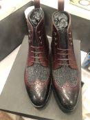 LOT: (8) Browning Brogue Boots, (1) 8, (1) 9, (1) 9.5, (2) 10, (2) 11, (1) 12