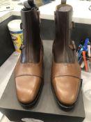 LOT: (9) Kingsbury Buckle Boots, (1) 9, (1) 9.5, (2) 10, (1) 10.5, ( 1) 11, (1) 11.5, (1) 12, (1) 13