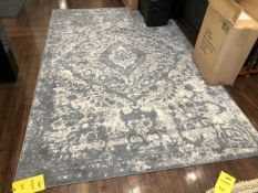 48 in. x 60 in. Blue Area Rug