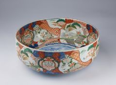 ARTE GIAPPONESE A large Imari porcelain basin Japan, 19th century .