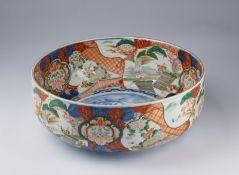 ARTE GIAPPONESE A large Imari porcelain basin Japan, 19th century .