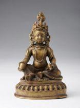Arte Himalayana  A bronze figure of Jambhala Nepal, 18th-19th century .