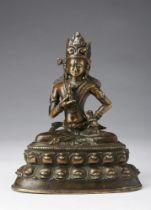Arte Himalayana  A bronze figure of Vajrasattva Tibet, 12th-13th century .