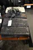 LOT KEYBOARDS & MOUSES