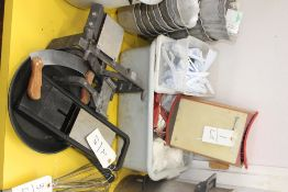 LOT PIZZA, KNIFE, MANDOLIN, SLICER, CHEESE CUTTER, ETC