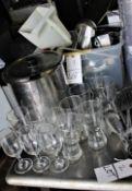 ASSTD. KITCHEN ITEMS & GLASSES