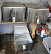"""3'x21"""" SS Beer Coolers"""