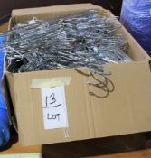 Lot of Box of New Hangers