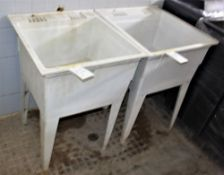 Fiberglass Laundry Sink