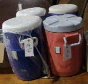 Igloo & Rubbermaid 5 Gal Water Coolers