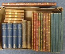 Royal Academy Pictures, 1892-1904, various bindings, and other books (box)
