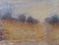 Doran, Cornfield, (study 3), pastel, signed and dated 1997, 37 x 48 cm