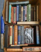 Hemingway (Ernest) Works of, Folio Society, and other Folio Society volumes, mostly with