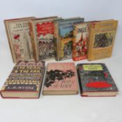 Lewis (Norman) A Single Pilgrim, 1953, and seven other volumes, all with dust jackets (8) (box)