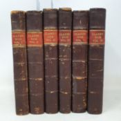 Clarendon (Edward Earl of) The History of the Rebellion and Civil Wars in England, 6 vols, 1725-