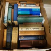 A large group of assorted volumes, including travel (5 boxes)