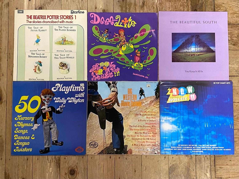 Various vinyl LP 33 rpm records (box) - Image 2 of 2