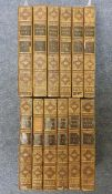 Gibbon (Edward) The History of the Decline and Fall of the Roman Empire, 1813, 12 vols, some