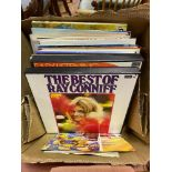 Various vinyl LP 33 rpm records (box)