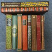 The Charterhouse of Parma, Folio Society, 1977, and nine other Folio Society volumes, all with