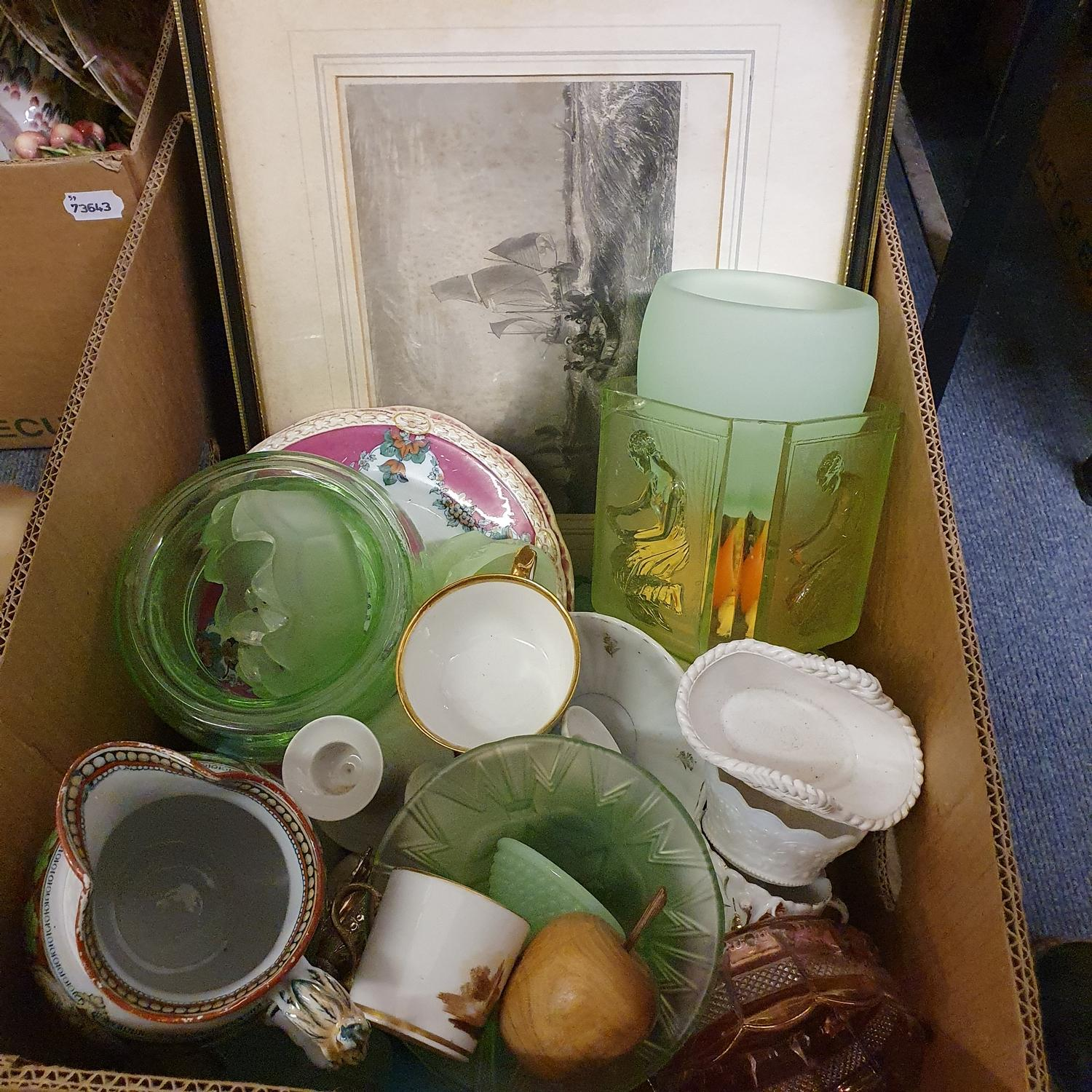 Assorted ceramics, and other items (box) - Image 3 of 3