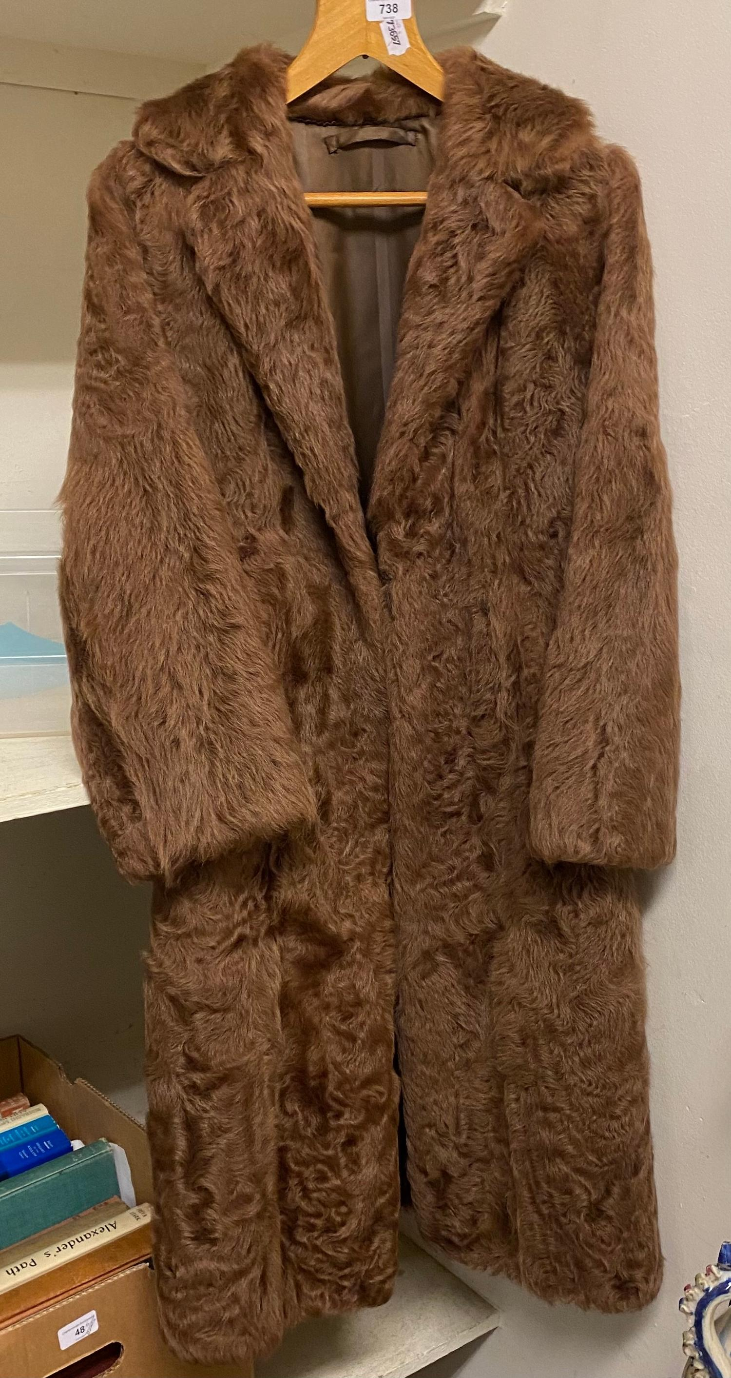 A fur coat, by Singewald of Hamburg