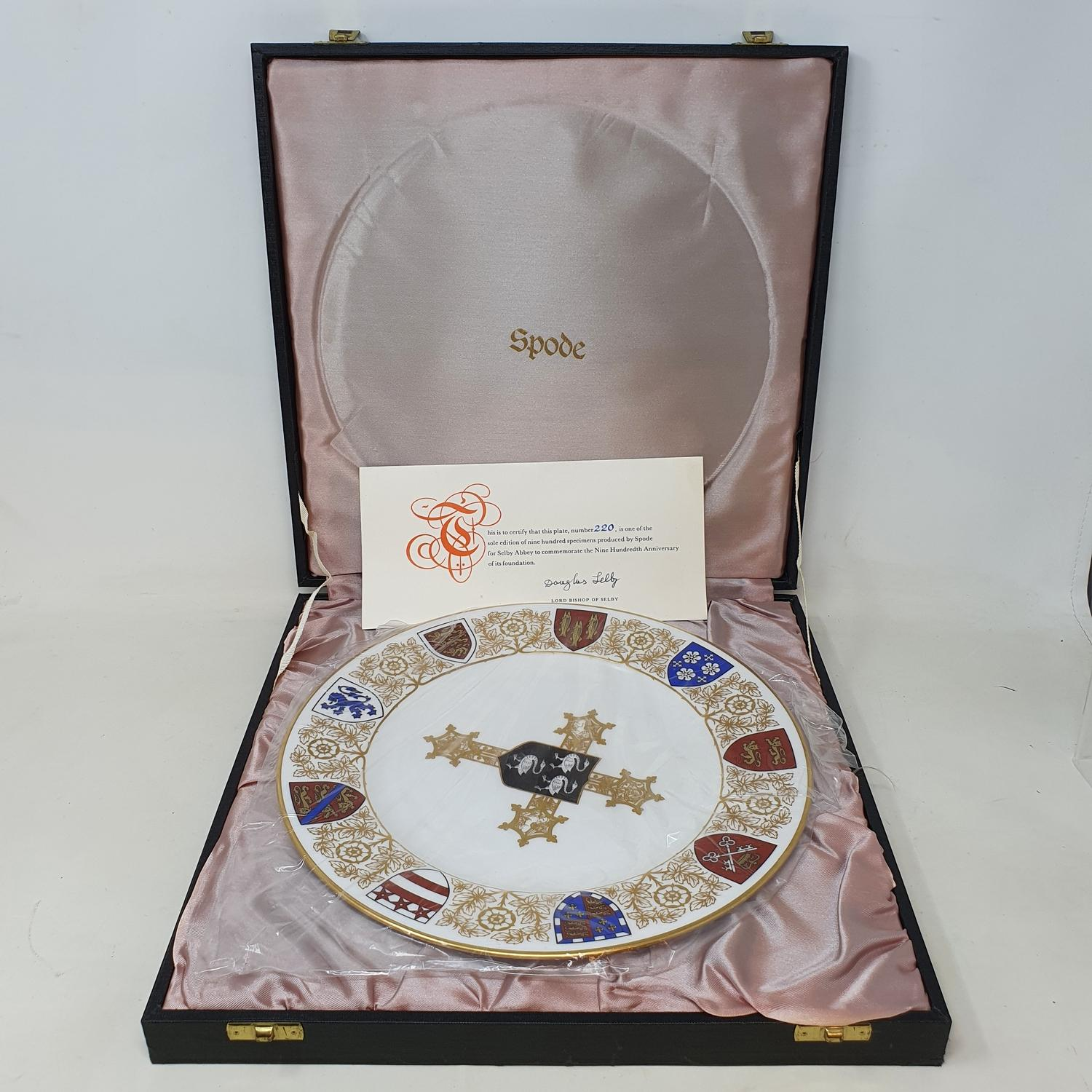 A group of Spode collectors' plates, in presentation boxes, and various other commemorative wares ( - Image 2 of 4