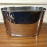 A modern champagne bucket, 44 cm wide
