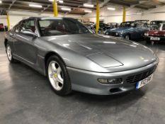 1998 Ferrari 456 GTA Registration number F12 SNS Front engined 5.5 litre V12 Grigio Titanis with