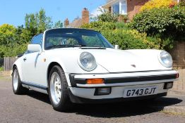 1989 Porsche 911 Sport Targa Registration number G743 GJT Chassis number WPOZZZ91ZKS141030 Grand
