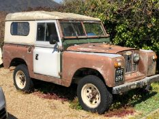 1962 Land Rover Series 2a Registration number YFF 699 Galvanised chassis, good bulkhead and straight