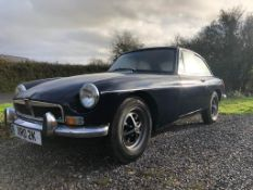 ***Now Withdrawn*** 1971 MG B GT Registration number XRO 2K Recent respray and engine rebuild Bought