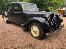 1956 Citroen 11B Light 15 French registration 4 CE 50 Imported 1990, duties paid Not UK road