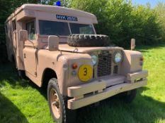 1965 Land Rover Series 2 Marshall Ambulance Registration number HVK 265C Relatively original and