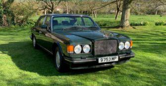 1989 Bentley Turbo R Registration number F364 UBJ Chassis number SCBZR04A7KCH25909 Engine number