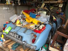 1960 MG A 1600 Roadster Registration number 190 RTJ Being sold without reserve Long term family