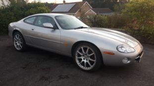 2002 Jaguar XK8 Coupe Registration Number XK02 BOB MOT expires February 2022 Metallic silver & black