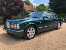 2000 Bentley Arnage Red Label Registration number X889 HKY Chassis number SLBLC32E3YCH045454
