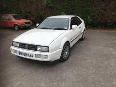 1994 VW Corrado VR6 Registration number M569 KAA MOT expires November 2021 White Owned since 2012