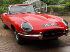 1962 Jaguar E-Type 3.8 Fixed Head Coupé Registration number 297 HBF Chassis number 860773 Engine