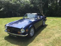 1973 Triumph TR6 Registration number RBF 513M Chassis number CR26460 Engine number CP75364HE MOT