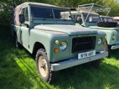1982 Land Rover Series 3 LWB Registration number NYN 48Y Stage 1 V8 Ex-BBC with unusual features (