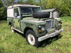1980 Land Rover Series 3 88 inch Registration number PWY 985W Galvanised chassis and recent bulkhead