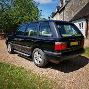 2002 Range Rover P38 Vogue Registration number SL02 SJL MOT expires December 2021 Java black with