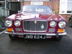 1971 Jaguar XJ6 Registration number JWB 624J Chassis number 1G8743BW MOT expires March 2022 Rare 2.8