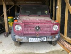 1991 Mercedes-Benz 300 GD Registration number H658 DUF Being sold without reserve Iconic automatic G