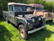 1957 Land Rover Series 1 Registration number LFX 271 109 inch pick up with a 2.0 diesel Plenty of